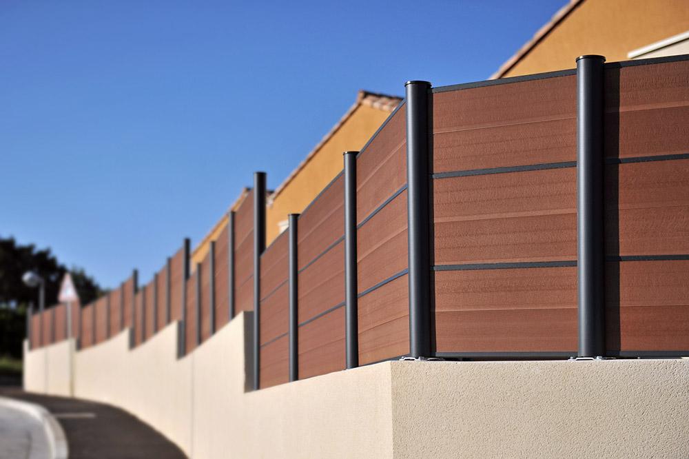 cl ture en bois composite montr al piveteau bois. Black Bedroom Furniture Sets. Home Design Ideas