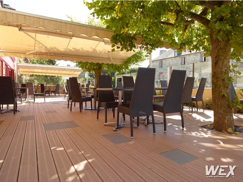 cidessous des exemples de nos réalisations en bois composite WEX