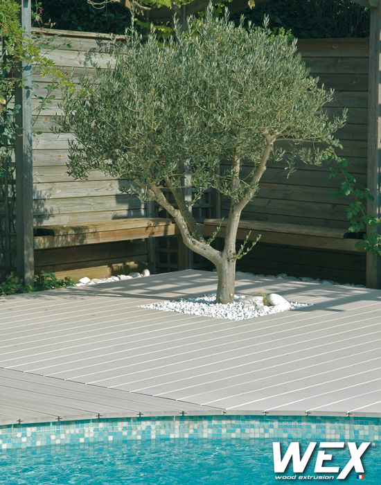 terrasse bois composite vendee, photo vu sur  wexcompositefr