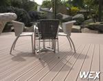 Terrasse en bois composite pour un camping de Loire-Atlantique