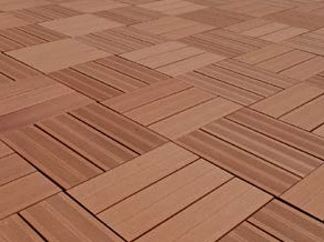 Gamme Dalwex, des dalles en bois composite pose facile et rapide !