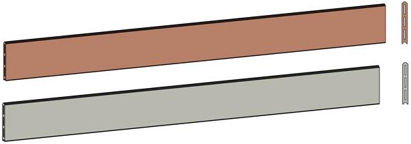 Lame Composite Pour Clature : Clôture en bois composite montréal piveteau
